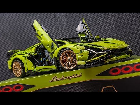Quick Review Of Lego 42115 Lamborghini Sian Fkp 37 Youtube Lamborghini Lego Technic Lego