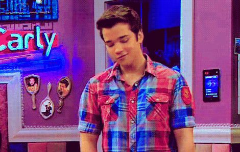 Freddie: Hey Cuteness Sam: Lips please!