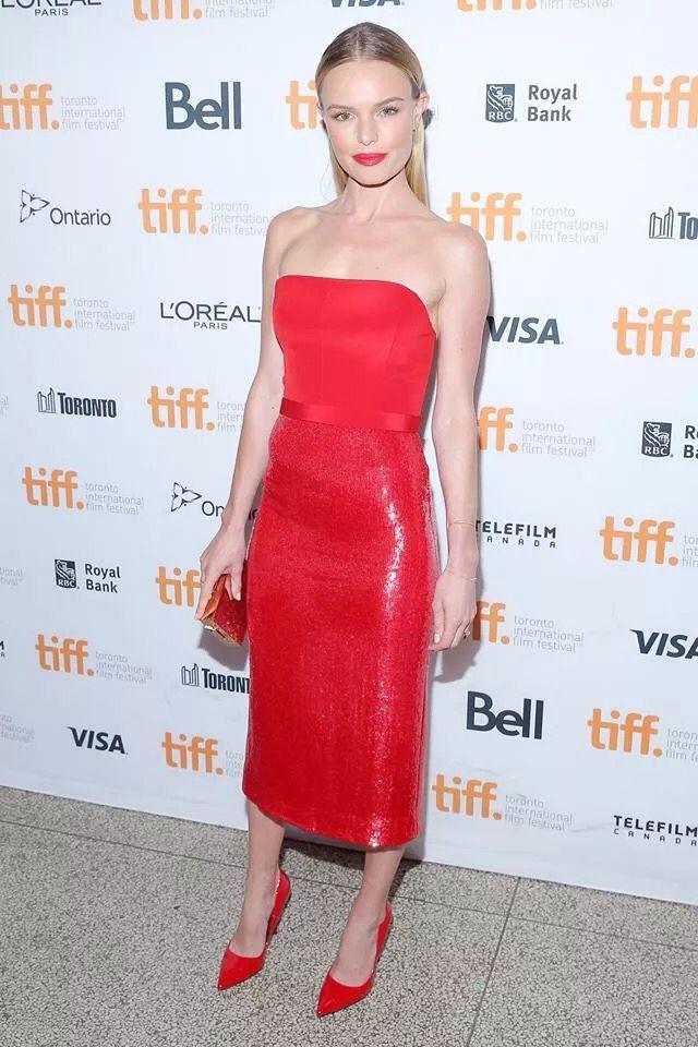 Questo è un vero vestito rosso