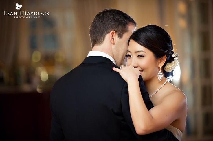 Fairmont Copley Boston has a beautiful ballroom for your first dance #boston #wedding #photographs