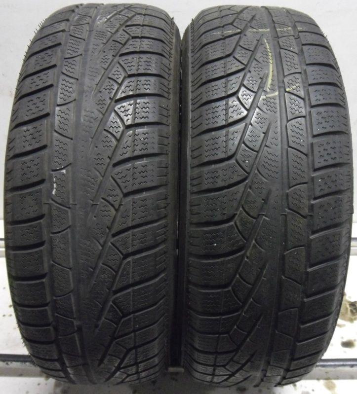 2 pirelli 205 60 16 sottozero 210 winter snow used part worn tyres x2