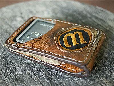 Custom Magnetic Bi fold Wallet-Vvego…