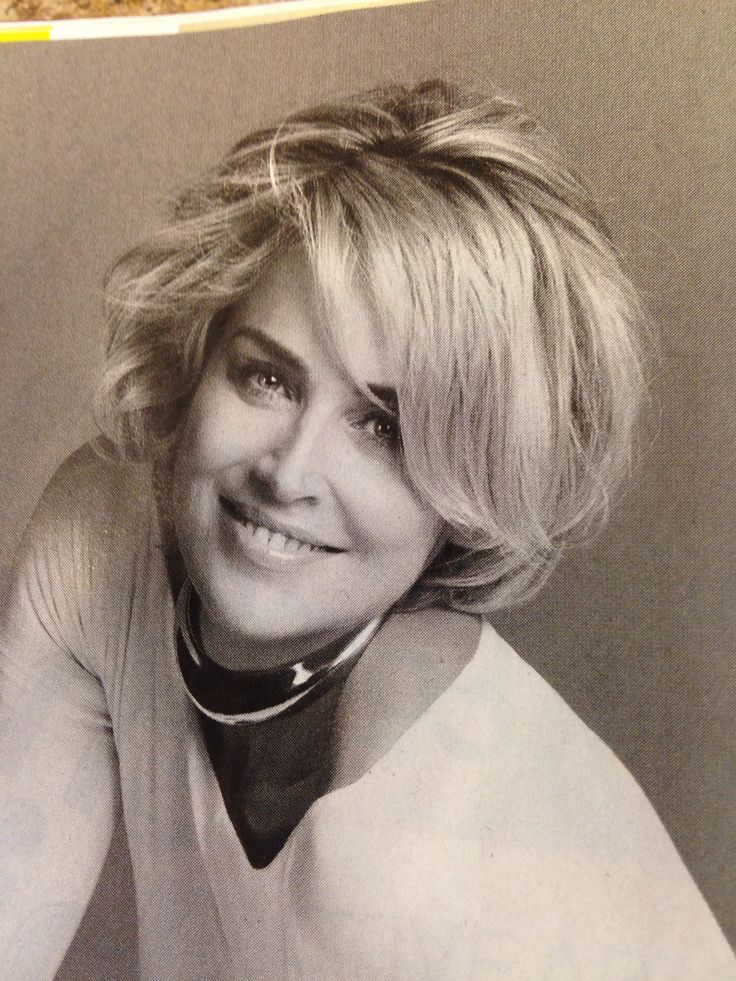 besides Sharon Stone Short Hair Back together with Sharon Stone Short ...