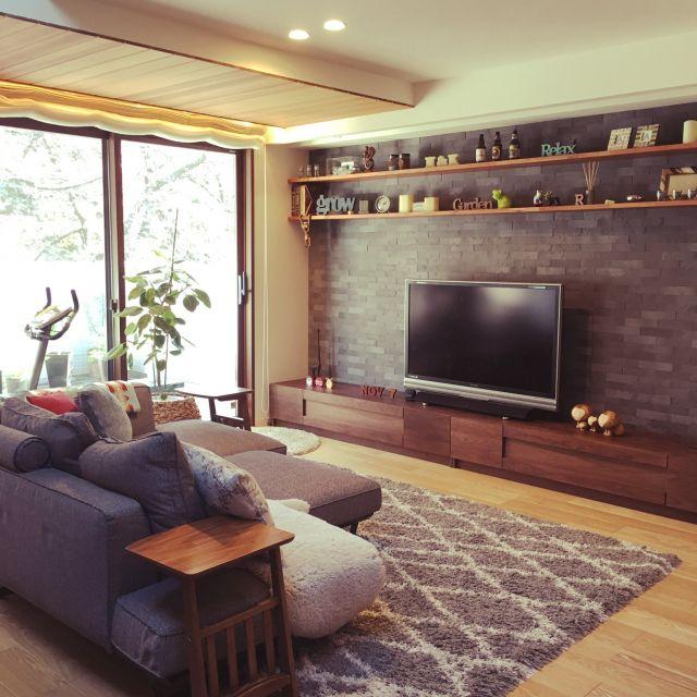 .cococamo.さんの、部屋全体,照明,積水ハウス,シャーウッド,リセット完了,二階リビングバルコニー,スローリビング,フラットバルコニー,のお部屋写真