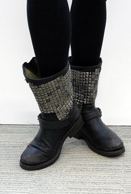 Ash trash biker boots