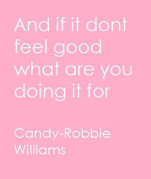 Robbie Williams- Candy