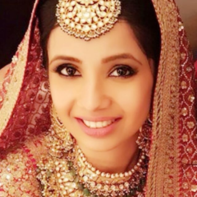 My bride #Sumanjeet! Don't let her tiny frame fool you. She is fearless and a go getter. I kept her look timeless with Kaajaled eyes and gold flushed her skin for that beautiful radiance. Sumanjeet, look at this picture 20 years from now and ask yourself if you would want the same look then because some looks are iconic regardless of time!