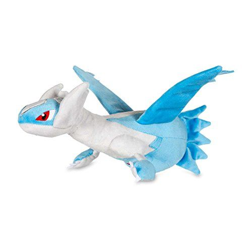 Latios Plush 12'' - Legendary Blue Latios Plushie 12 inches Tall (discontinued by manufacturer)  Latios Plushy 12 Inches, About 30cm  Featuring the Legendary Blue Latios! One of the Legendary Dragons from the Ruby and Sapphire games!  Collect your own plush Latios and become an ultimate Pokemon Master!  Won't deform or deflate over time! Stuffing made from 100 grade premium cotton