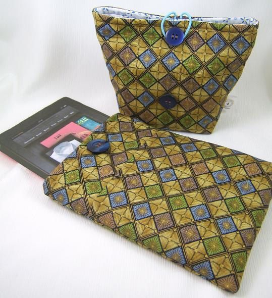 NEW PDF Sewing Pattern Padded Case for the Newest iPad Mini, Kindle Fire & Kindle Fire HD, and More, Plus Accessory Case. $6.00, via Etsy.
