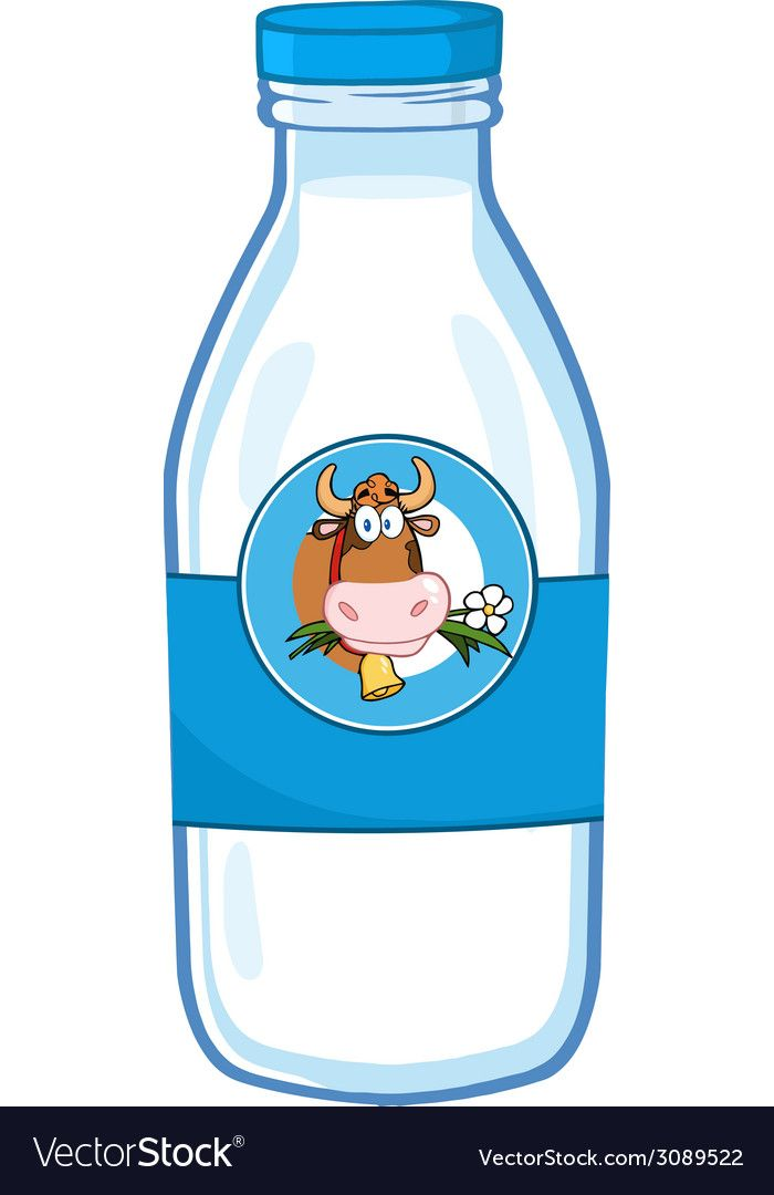Milk Bottle Cartoon Download A Free Preview Or High Quality Adobe Illustrator Ai Eps Pdf And High Resolution Jpeg Vers Cute Food Art Cartoon Cartoons Vector