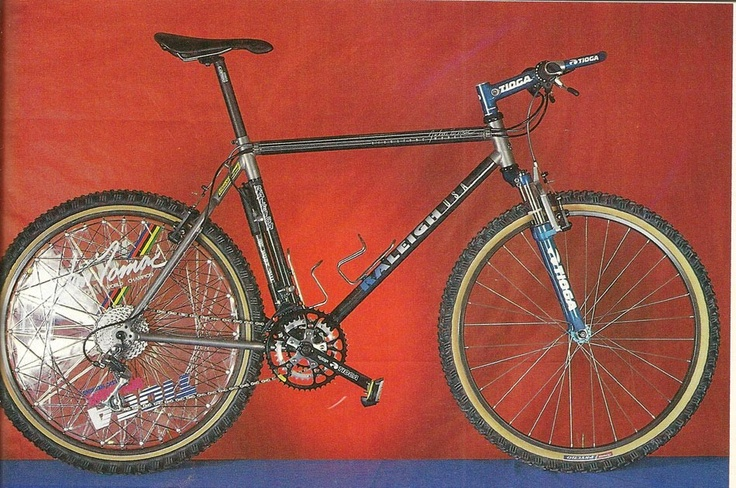 1993 Raleigh John Tomac Signature Model. I built these when I worked at Raleigh, from the ground up.
