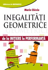 Volumul cuprinde: Metoda S.O.S. •Principiul dualitatii  •Inegalitatea lui Bergstrom  •Cauchy-Buniakovski-Schwarz  •Inegalitatea lui Holder  •Inegalitatile lui Mitrinovic  •Inegalitatea lui Cebisev  •Inegalitatea lui Schur  •Inegalitatea lui Jensen  •Inegalitatea lui Petroviciu  •Inegalitatea lui Euler  •Inegalitatea mediilor  •Inegalitatea lui Gerretsen