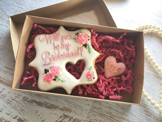 Will You Be My Bridesmaid Cookie Set