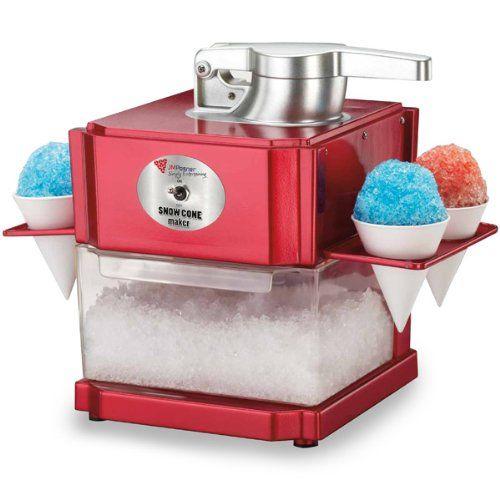 Snow Cone Maker | Slushie Maker, Ice Shaver Machine, Slush Maker, Frozen Drinks Machine: Amazon.co.uk: Kitchen & Home