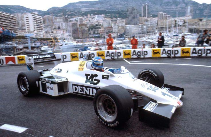 keke rosberg williams | Keke Rosberg (FIN) com Williams FW08C no Grande Prêmio de Mônaco de ...