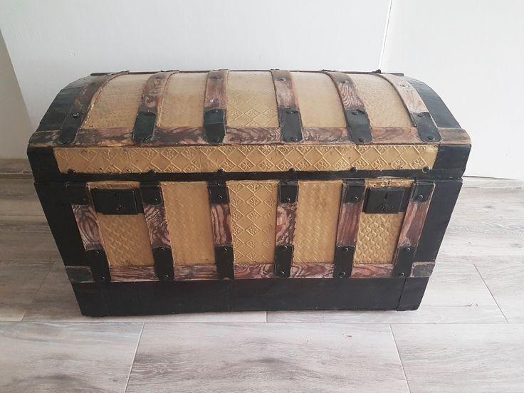 Cómo restaurar un baúl antiguo en 5 pasos