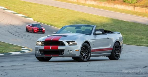 Ford To Auction The Last 2014 Shelby GT500 Convertible At Hot August Nights