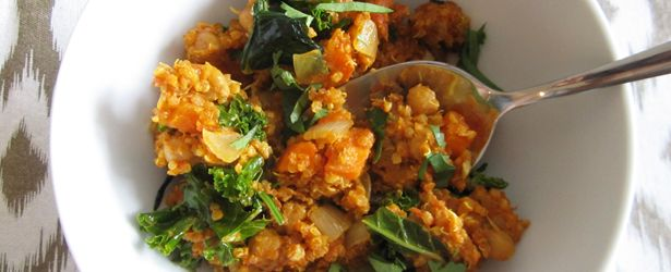 This site has a bunch of delicious looking vegan gluten free main dishes...