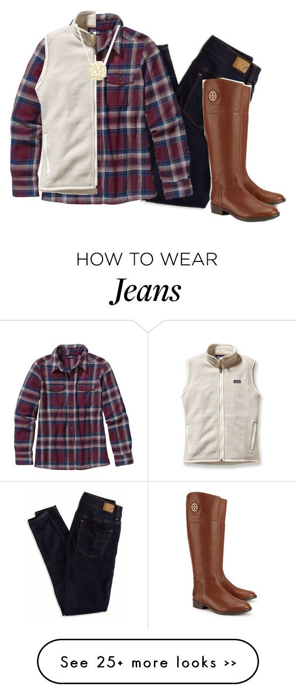 """""""i spread my wings"""" by marinampetrillo on Polyvore featuring American Eagle Outfitters, Patagonia and Tory Burch"""