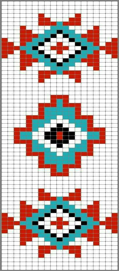 Aztec Mochila pattern