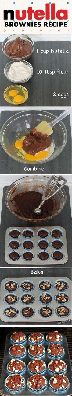 Nutella Brownie Recipe