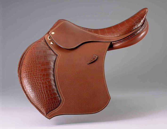 Chanel also has their own saddles. (He actually worked for fifteen years as a saddle maker for Hermes prior.)