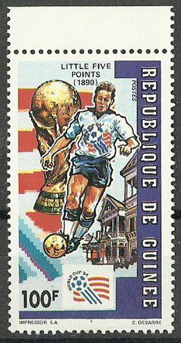 Guinea, 1992, Football World Cup - U.S.A., MNH