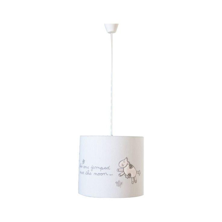 Lampe moderne pour chambre bébé coloris blanc