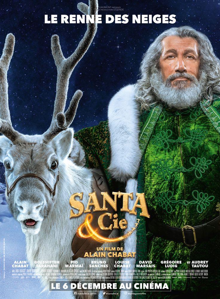 Santa & Cie [<3] film français d'Alain Chabat (2017) avec Alain Chabat, Golshifteh Farahani, Pio Marmai. Comédie familliale. Vu en salle en famille, décembre 2017.