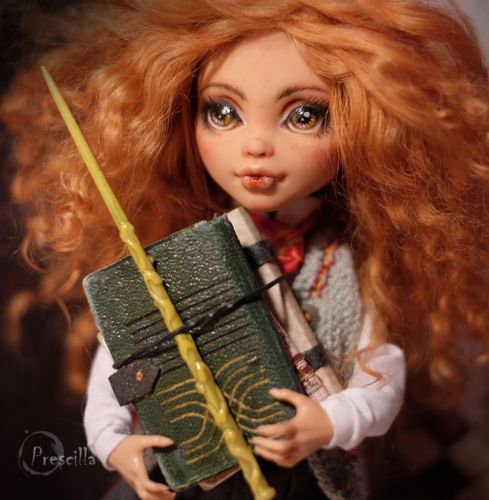 Екатерина Havres — Custom Monster High Hermione Granger (Harry...