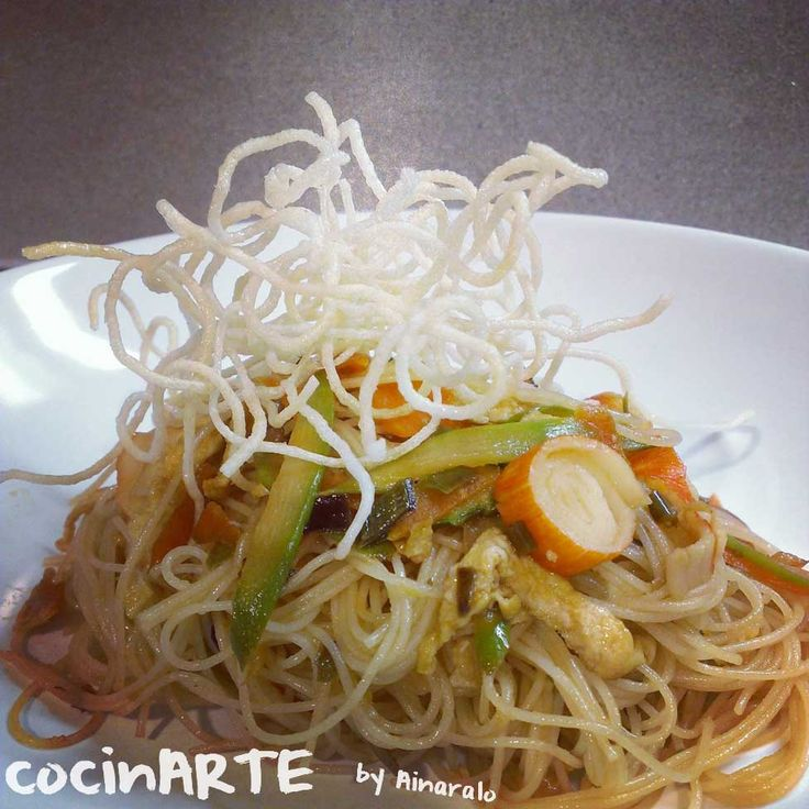 fideos salteados: Arroz Salteados, Mis Recetas, Rice, Fideos Salteados