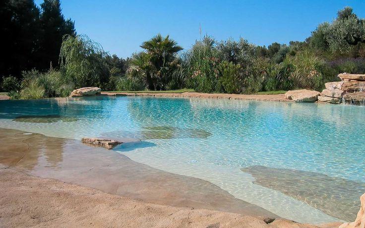 Les 25 meilleures id es de la cat gorie piscine plage sur for Construction piscine plage
