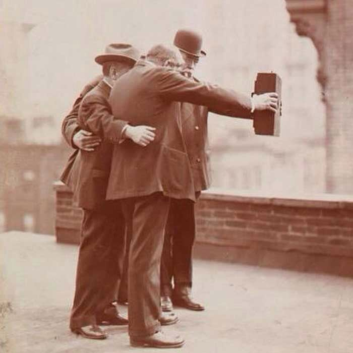 First old Selfie 1920s