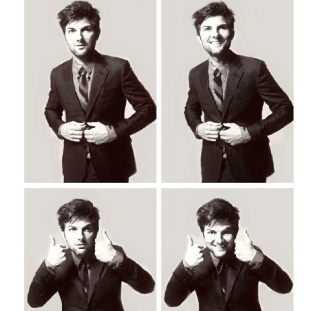 Everything bout Adam Scott makes me tingle :)))