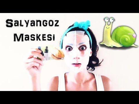Salyangoz Maskesi Denedim I Kapak Kızı - YouTube