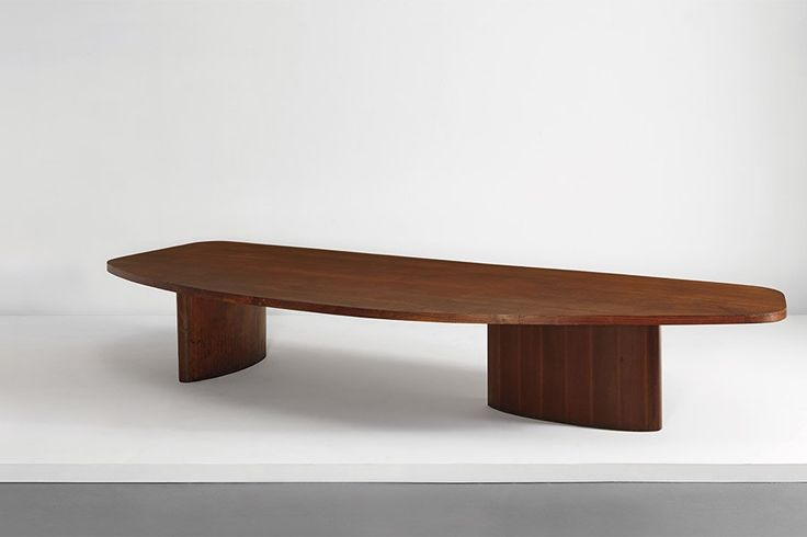 """1953–54 unique and monumental Managing Committee table by Balkrishna and Le Corbusier Sold at Phillips, """"The Collector: Icons of Design"""" (New York, December 16) Estimate: $300,000–$400,000 Price realized: $1,818,500Sotheby's Paris presents its first-ever auction devoted to the art of setting the tableBillionaire activist Jon Stryker's collection of important works was on the blockWorks by Italian designer Gabriella Crespi were up for sale at Paris's Piasa Auction HouseAD and Sotheby's ..."""