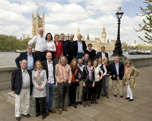 Australia's First Families of Wine launch in London in 2010. What a great bunch of people!