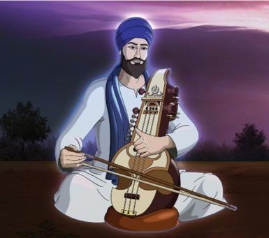 Sikh Martyr Shaheed Bhai Taru Singh: Artistic Impression of Bhai Taru Singh