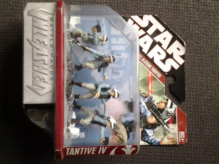 Hasbro Star Wars Tantive 4 Battle Packs Unleashed Rebel Blockade Troopers - MISB