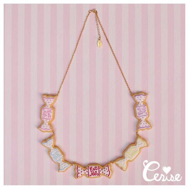 マルチカラーのキャンディがキュートなボリューミーなネックレス シンプルなトップスにぜひ合わせたい (ワンサイズ) 19000-(税抜) #cerisestore #cerise #cerise_toyme #toyme #necklaces #icingcookies