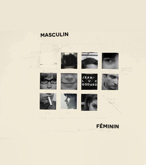 """gilbertnorrell:    """"The Children of Marx and Coca-Cola.""""   365FILMS:Masculin Féminin154/365"""