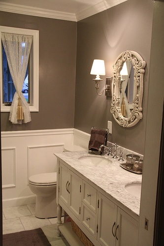 White Carrara Marble Bathroom Look What You Can Do With