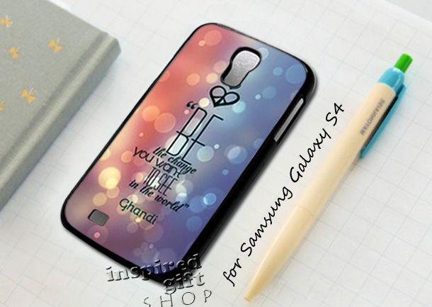 #be #change #quotes #mahatma #gandhi #iPhone4Case #iPhone5Case #SamsungGalaxyS3Case #SamsungGalaxyS4Case #CellPhone #Accessories #Custom #Gift #HardPlastic #HardCase #Case #Protector #Cover #Apple #Samsung #Logo #Rubber #Cases #CoverCase