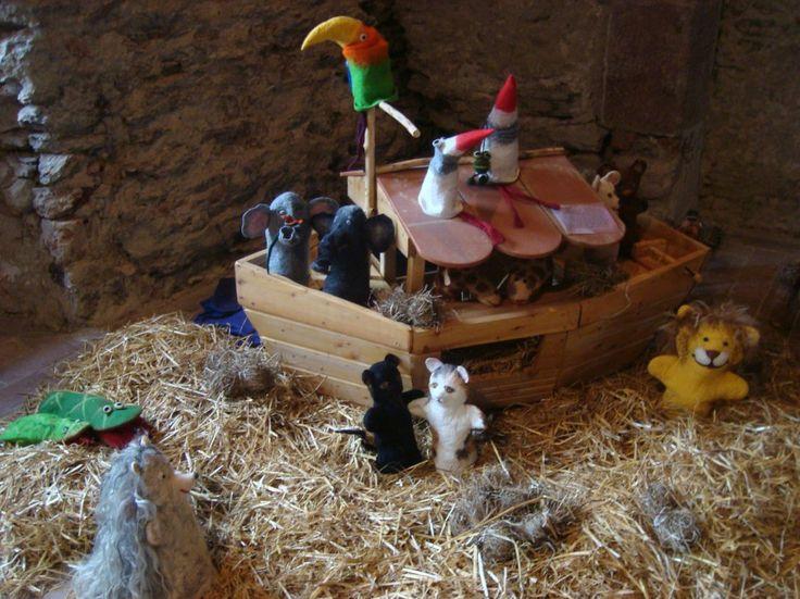 Arche Noah für Filzpuppen von C. Zeiger