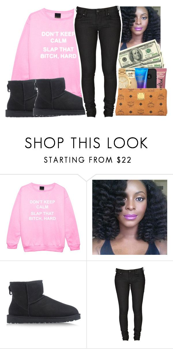 """you used to call me on my cellphone.📞"" by glowithbria ❤ liked on Polyvore featuring UGG Australia and Levi's"