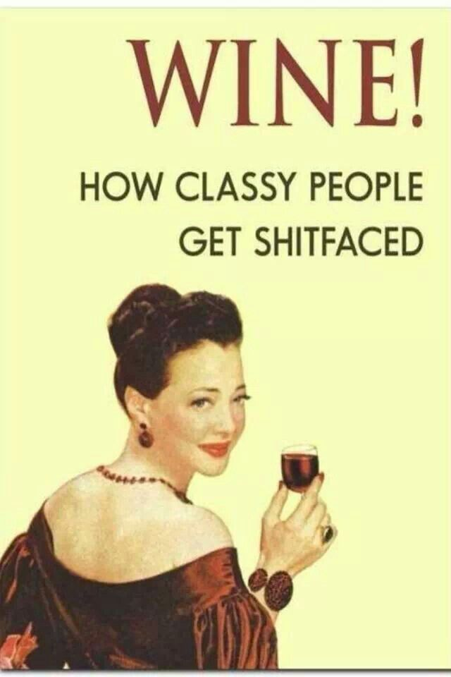 I think this makes me classy!