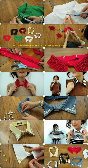 DIY embellished collars!