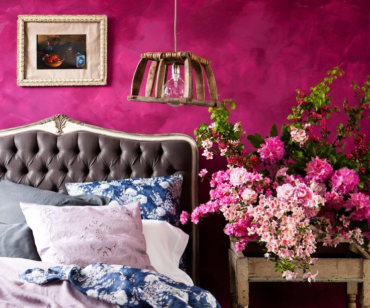 Want to add a splash of colour to your bedroom, or give it a completely colourful makeover? Here's how!