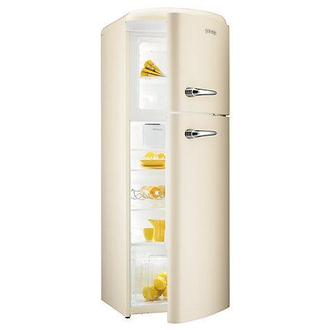 Buy Gorenje RF60309OC Freestanding Fridge Freezer, A++ Energy Rating, Right-Hand Hinge, 60cm Wide, Cream Online at johnlewis.com