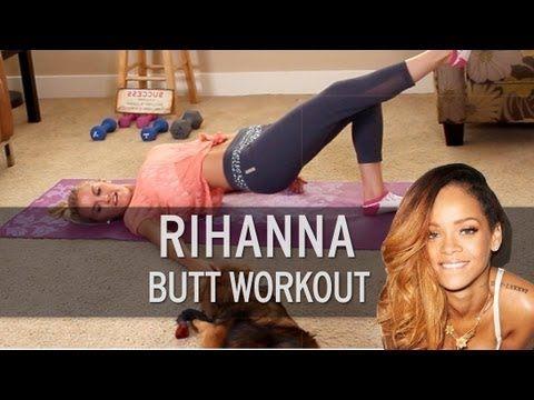 Rihanna Butt Workout - YouTube